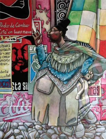 bolivarienne-ca6de dans Peinture - Graphisme